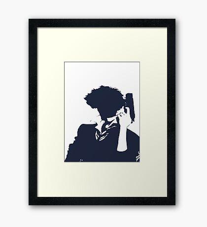 Cowboy Bebop - Spike Knockout Framed Print