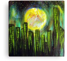 Sin City Lights Canvas Print
