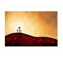 Forgiven - Christian Art By Sharon Cummings Art Print