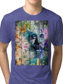 Artistic I - Albert Einstein Tri-blend T-Shirt
