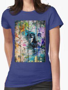 Artistic I - Albert Einstein Womens Fitted T-Shirt