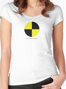 CRASH TEST DUMMY Women's Fitted Scoop T-Shirt