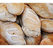 Fresh baked Bread Photographic Print
