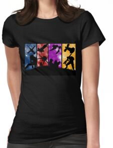 Cowboy Bebop - Group Colors Womens Fitted T-Shirt