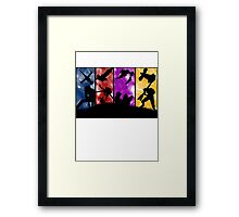 Cowboy Bebop - Group Colors Framed Print
