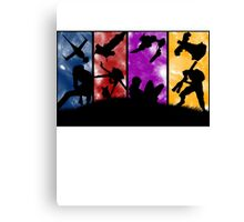 Cowboy Bebop - Group Colors Canvas Print