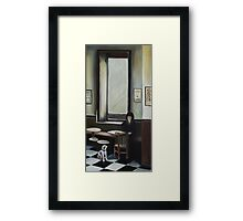 Dog's Dream Framed Print