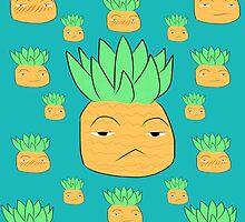 One Piece Marco Pineapple by turtlefriedrice