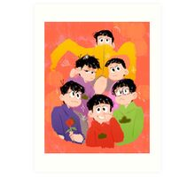 Osomatsu San Prints + Other Products Art Print