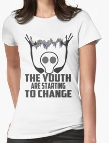 THE YOUTH! Womens Fitted T-Shirt