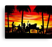 Tribute to Summer Canvas Print