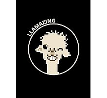 You're llamazing! Photographic Print