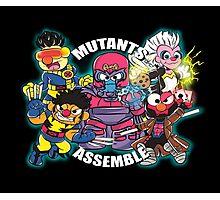 Mutants Assemble  Photographic Print