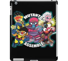 Mutants Assemble  iPad Case/Skin