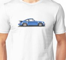 Porsche 911 Turbo (965) (blue) Unisex T-Shirt