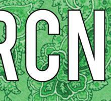 Ramapo College Green Sticker