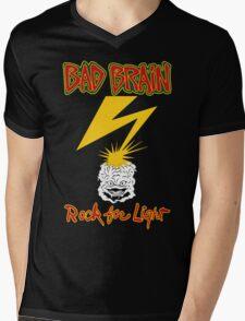 Bad Brains Rock For Light Mens V-Neck T-Shirt