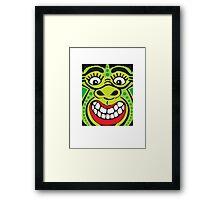 Funky Aboriginal pt.2 Framed Print