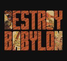 Bad Brains Destroy Babylon by ezechiels