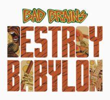 Bad Brains Destroy Babylon Kids Clothes