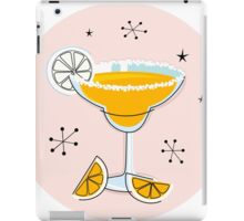 Margarita drink in hand drawn retro style iPad Case/Skin