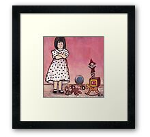 Spoiled (love is what I need) Framed Print