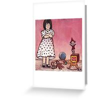 Spoiled (love is what I need) Greeting Card