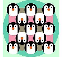 PenguinGame Photographic Print