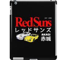 Initial D - Akagi RedSuns iPad Case/Skin