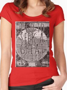John Green -- Great Perhaps 001 Women's Fitted Scoop T-Shirt