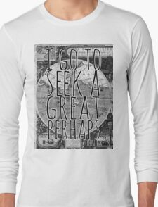 John Green -- Great Perhaps 001 Long Sleeve T-Shirt