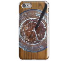 Focused Coke Glass iPhone Case/Skin