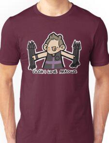 Gosh I Love Arrows Unisex T-Shirt