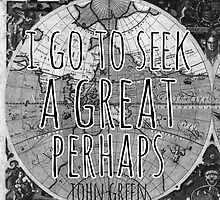 John Green -- Great Perhaps 002 by Alyssa  Clark
