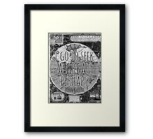 John Green -- Great Perhaps 002 Framed Print