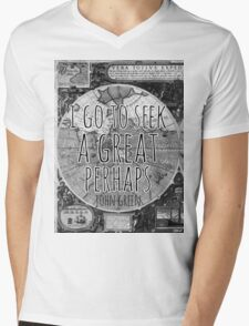 John Green -- Great Perhaps 002 Mens V-Neck T-Shirt