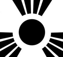 MUTO Radioactive Zone; Nuclear - Black Sticker