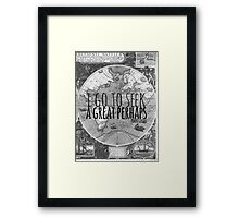 John Green -- Great Perhaps 003 Framed Print