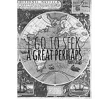 John Green -- Great Perhaps 003 Photographic Print