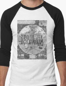 John Green -- Great Perhaps 003 Men's Baseball ¾ T-Shirt