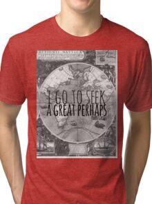 John Green -- Great Perhaps 003 Tri-blend T-Shirt