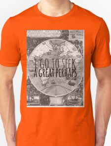 John Green -- Great Perhaps 003 Unisex T-Shirt