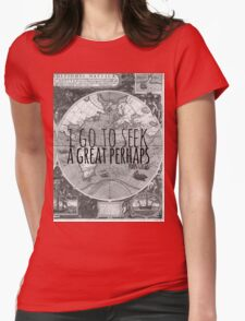 John Green -- Great Perhaps 003 Womens Fitted T-Shirt