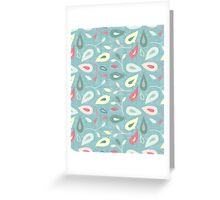 Abstract pattern with texture Greeting Card