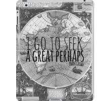 John Green -- Great Perhaps 003 iPad Case/Skin