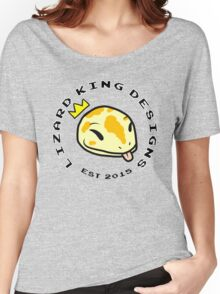 Lizard King Designs Logo with Name Women's Relaxed Fit T-Shirt