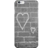 Hearts On Wall iPhone Case/Skin