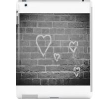 Hearts On Wall iPad Case/Skin