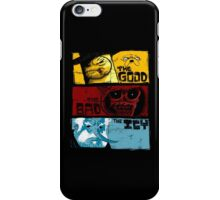 The Good The Bad The Icy iPhone Case/Skin