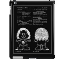 Brave Heart Lion Patent - Black iPad Case/Skin